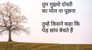 Best Friendship Hindi Shayari Images for friend hd