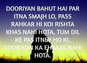 Best Hindi Dooriyan Shayari Images picture