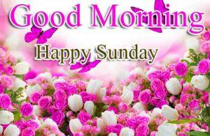 Good Morning Happy Sunday HD Wallpaper Free