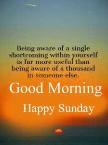 English Quotes Good Morning Happy Sunday HD Pics Download