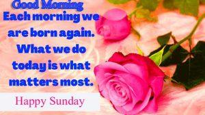 Good Morning Happy Sunday HD Wallpaper for girlfriend