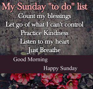 Good Morning Happy Sunday HD Wallpaper Free Download