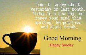 Good Morning Happy Sunday HD Photo Pics Wallpaper Free