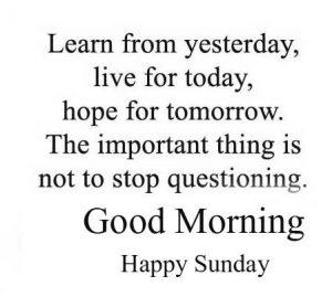 Good Morning Happy Sunday HD Wallpaper Pics HD