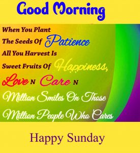 Beautiful Good Morning Happy Sunday HD Pics Download For Facebook