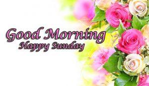 Sweet Beautiful Good Morning Happy Sunday HD Pics Download