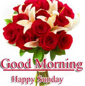 Beautiful Good Morning Happy Sunday HD Wallpaper Free Download