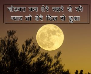Two Line Shayari collections Hindi Photo for Facebook