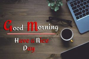 p Good Morning Images Pics With Laptop Life Style