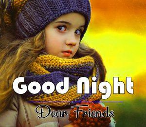 Beautiful Good Night Wishes Photo Free