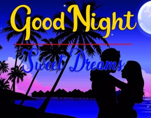 Free Good Night Wishes Pics images With Romantic Love Couple