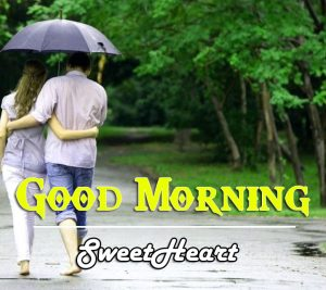 Free Love Couple Good Morning Wishes Wallpaper Download