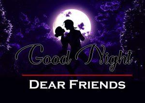 Free Love Couple Good Night Wallpaper Photo