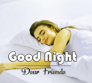Girls Free Good Night Wishes Wallpaper
