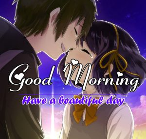 Good Morning Wishes Wallpaper With Cartoon