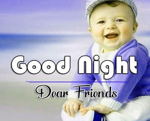 Good Night Wishes Images With Cute Fiend