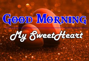 Heart Love Couple Good Morning Wishes Image