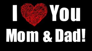 I love Mom Dad Whatsapp Dp Images Pics Download