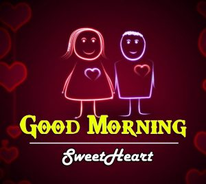 Love Couple Good Morning Wishes Photo for Facebook