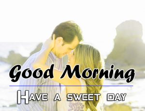Love Couple Good Morning Wishes Photo for Husband