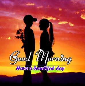 Love Couple Good Morning Wishes Wallpaper Download