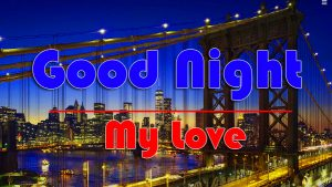 My Love Free Good Night Wishes Wallpaper