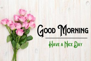 Pink Flower p Good Morning Images Pics Download