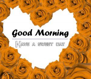 Rose Heart Beautiful Good Morning Images Pics Download
