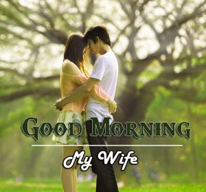 Wife Love Couple Good Morning Wishes Images