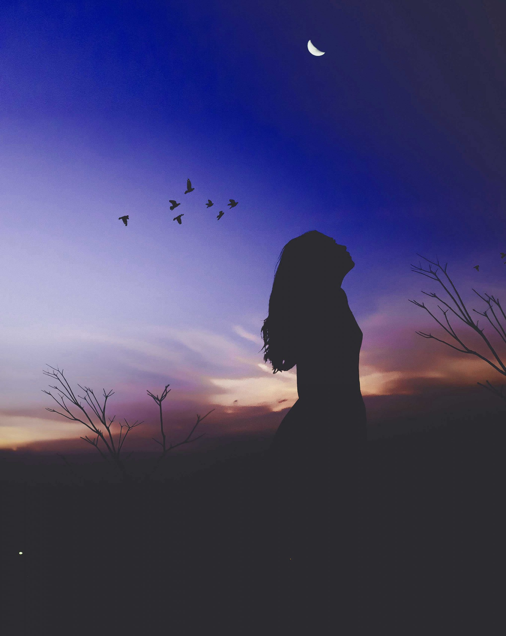 Alone Whatsapp DP Free Images