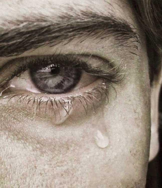 Crying Whatsapp DP