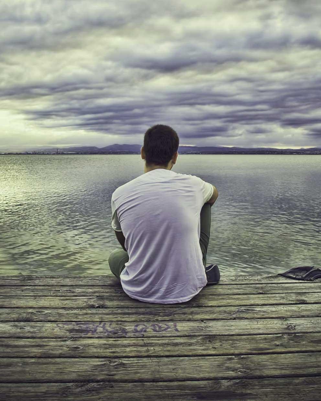 Latest Alone Whatsapp DP Photo