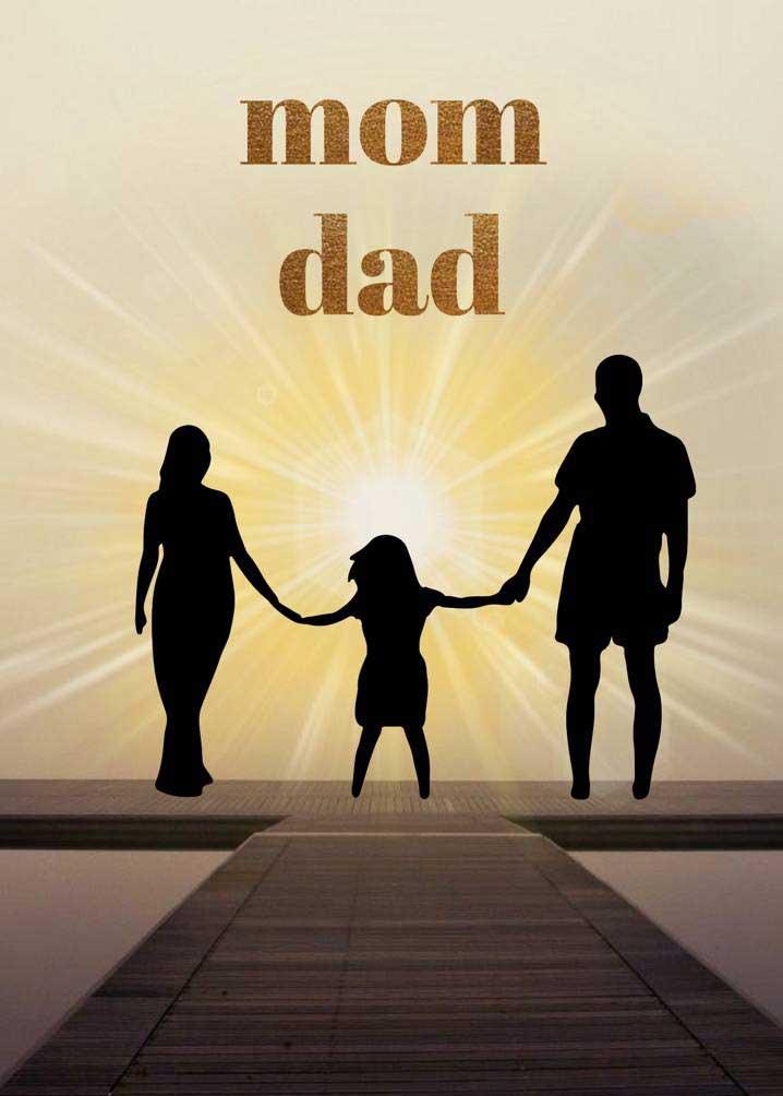 Mom Dad Whatsapp DP Download Pics