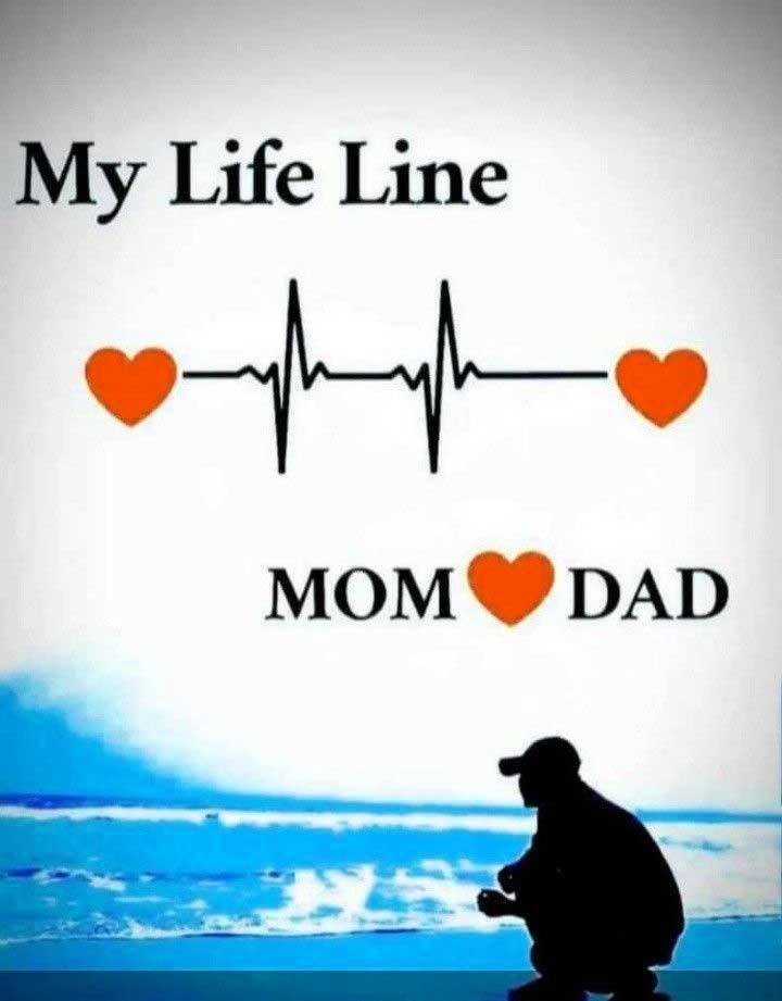 Mom Dad Whatsapp DP