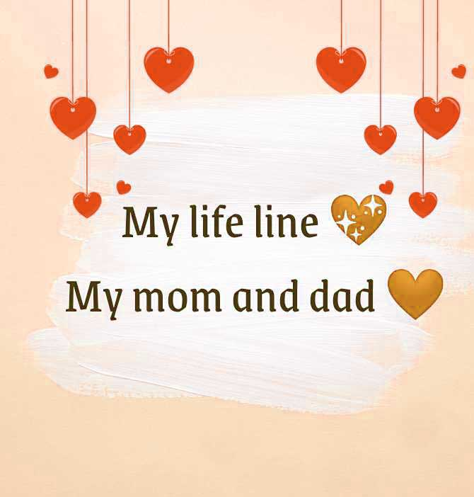 New Mom Dad Whatsapp DP Wallpaper
