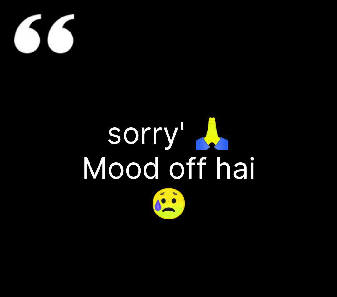 Images 1256+ Mood Off Dp For Whatsapp Profile *