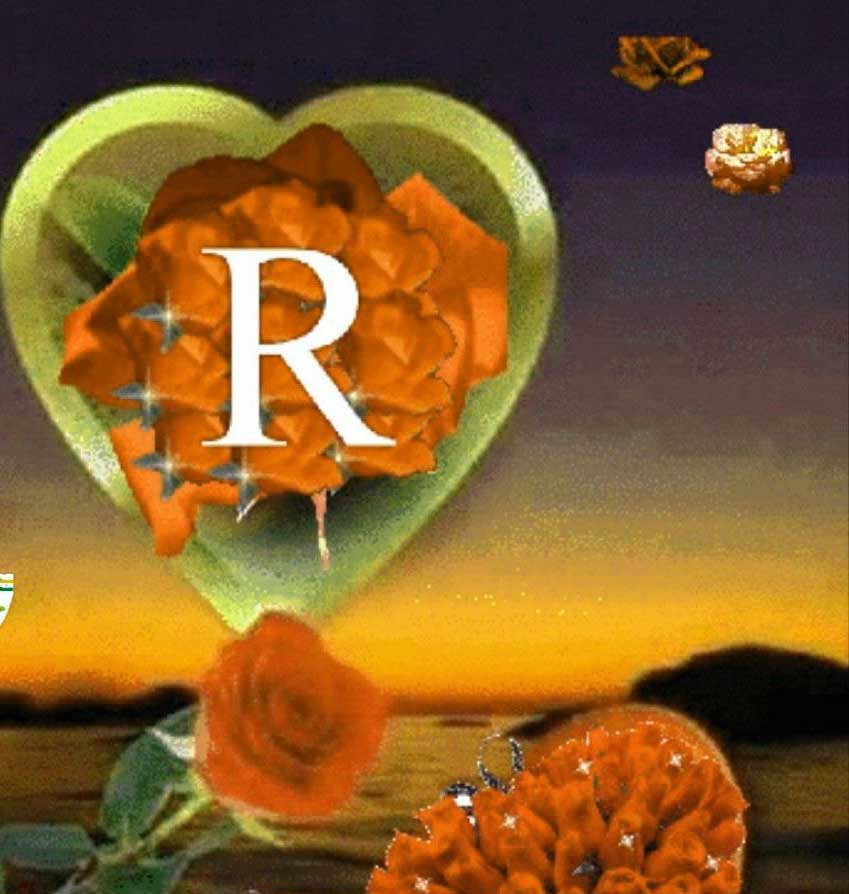 New R LETTER Whatsapp DP Download Hd