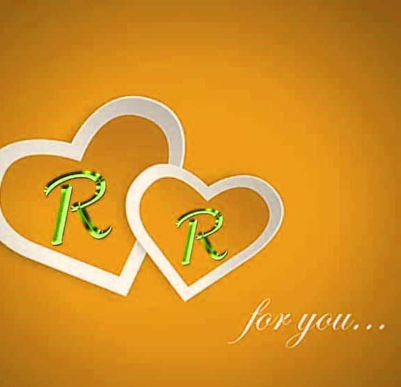 New R LETTER Whatsapp DP Hd Pics