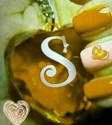 New S Letter Whatsapp DP Download