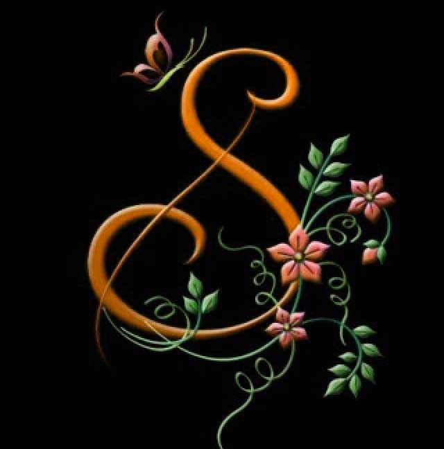 New S Letter Whatsapp DP Pictures Hd