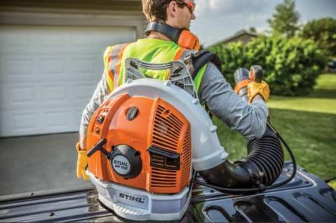 stihl br commercial backpack blower mesquite