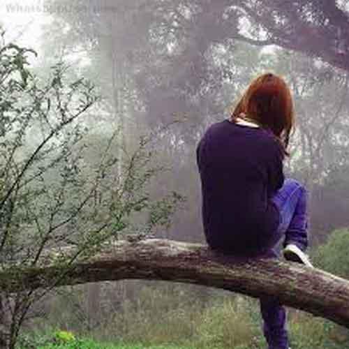 Whatsapp Dp Images of sad girl