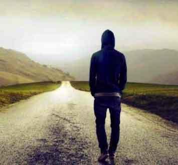 alone Sad Boy whatsapp dp photo