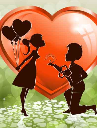 red heart Whatsapp dp pics hd