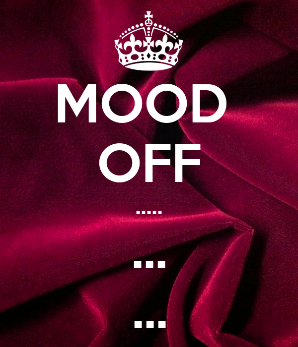 Mood Off Whatsapp DP Photo