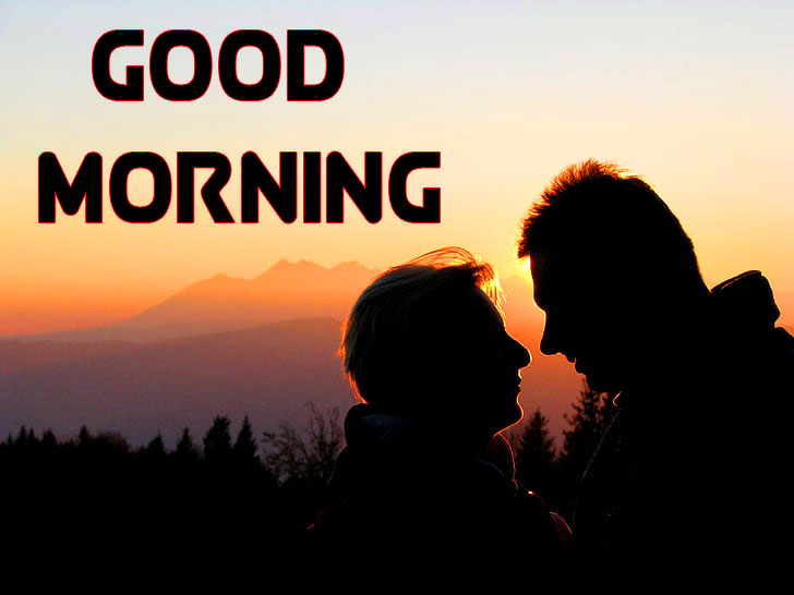 Romantic Good Morning Wishes Images for Love Couple