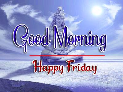 friday Good morning Wallpaper With Shiva