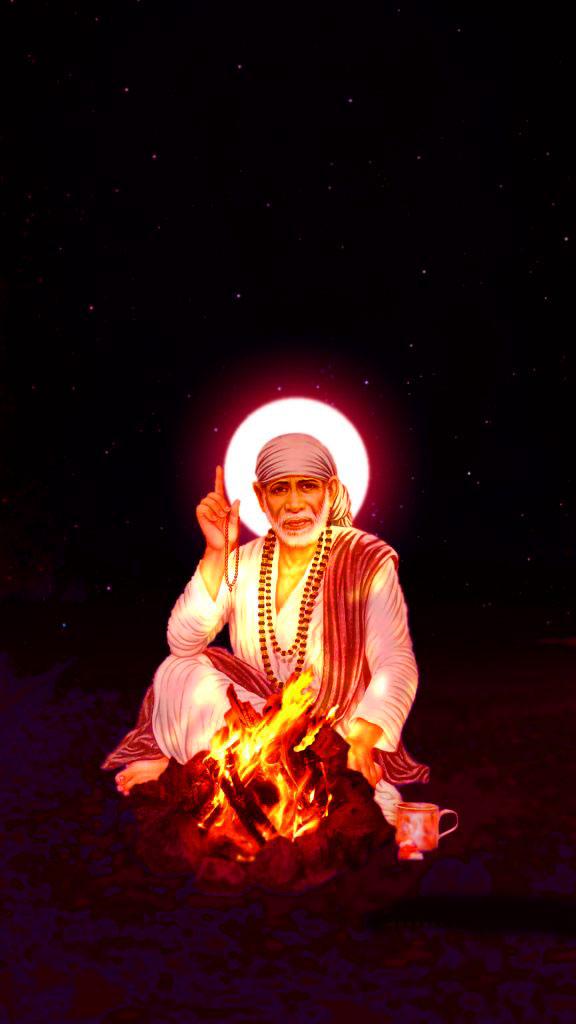 1080p Beautiful Sai Baba Blessing Images hd
