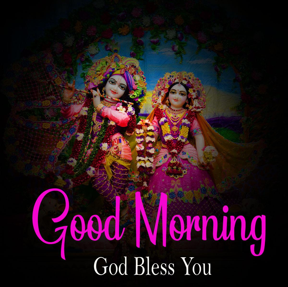 1080p Latest Radha Krishna Good Morning Images