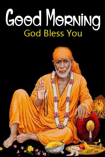 1080p Latest Sai Baba Good Morning Images